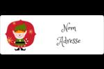 Lutin Étiquettes D'Adresse - gabarit prédéfini. <br/>Utilisez notre logiciel Avery Design & Print Online pour personnaliser facilement la conception.