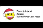 Émojis des Fêtes Étiquettes D'Adresse - gabarit prédéfini. <br/>Utilisez notre logiciel Avery Design & Print Online pour personnaliser facilement la conception.