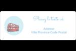 Les gabarits Fêtes à Londres pour votre prochain projet Étiquettes D'Adresse - gabarit prédéfini. <br/>Utilisez notre logiciel Avery Design & Print Online pour personnaliser facilement la conception.