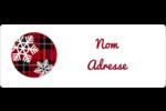 Les gabarits Motif à carreaux pour votre prochain projet Étiquettes D'Adresse - gabarit prédéfini. <br/>Utilisez notre logiciel Avery Design & Print Online pour personnaliser facilement la conception.