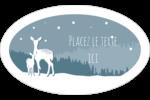 Les gabarits Cerfs en forêt pour votre prochain projet Étiquettes carrées - gabarit prédéfini. <br/>Utilisez notre logiciel Avery Design & Print Online pour personnaliser facilement la conception.