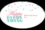 Les gabarits Happy Everything pour votre prochain projet Étiquettes carrées - gabarit prédéfini. <br/>Utilisez notre logiciel Avery Design & Print Online pour personnaliser facilement la conception.
