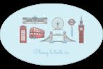 Les gabarits Fêtes à Londres pour votre prochain projet Étiquettes carrées - gabarit prédéfini. <br/>Utilisez notre logiciel Avery Design & Print Online pour personnaliser facilement la conception.