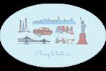 Les gabarits Fêtes à New York pour votre prochain projet Étiquettes carrées - gabarit prédéfini. <br/>Utilisez notre logiciel Avery Design & Print Online pour personnaliser facilement la conception.