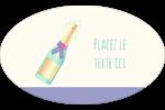 Les gabarits Bouteille de champagne pour votre prochain projet Étiquettes carrées - gabarit prédéfini. <br/>Utilisez notre logiciel Avery Design & Print Online pour personnaliser facilement la conception.