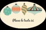 Motif de décorations Étiquettes carrées - gabarit prédéfini. <br/>Utilisez notre logiciel Avery Design & Print Online pour personnaliser facilement la conception.