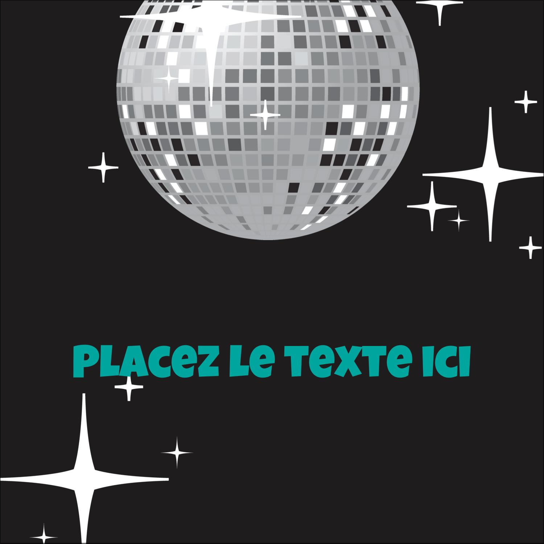 Les gabarits Boule disco pour votre prochain projet Étiquettes carrées - gabarit prédéfini. <br/>Utilisez notre logiciel Avery Design & Print Online pour personnaliser facilement la conception.
