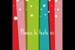 Rayures de Noël rétro Étiquettes rondes - gabarit prédéfini. <br/>Utilisez notre logiciel Avery Design & Print Online pour personnaliser facilement la conception.