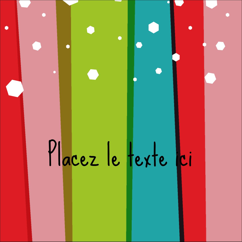 """9¾"""" x 1¼"""" Étiquettes enveloppantes - Rayures de Noël rétro"""