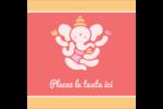 Ganesh Divali  Étiquettes enveloppantes - gabarit prédéfini. <br/>Utilisez notre logiciel Avery Design & Print Online pour personnaliser facilement la conception.