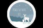 Les gabarits Cerfs en forêt pour votre prochain projet Étiquettes rondes - gabarit prédéfini. <br/>Utilisez notre logiciel Avery Design & Print Online pour personnaliser facilement la conception.