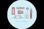 Les gabarits Fêtes à Londres pour votre prochain projet Étiquettes rondes - gabarit prédéfini. <br/>Utilisez notre logiciel Avery Design & Print Online pour personnaliser facilement la conception.