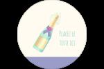 Les gabarits Bouteille de champagne pour votre prochain projet Étiquettes rondes - gabarit prédéfini. <br/>Utilisez notre logiciel Avery Design & Print Online pour personnaliser facilement la conception.