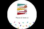 Les gabarits Trompettes pour votre prochain projet des Fêtes Étiquettes rondes - gabarit prédéfini. <br/>Utilisez notre logiciel Avery Design & Print Online pour personnaliser facilement la conception.