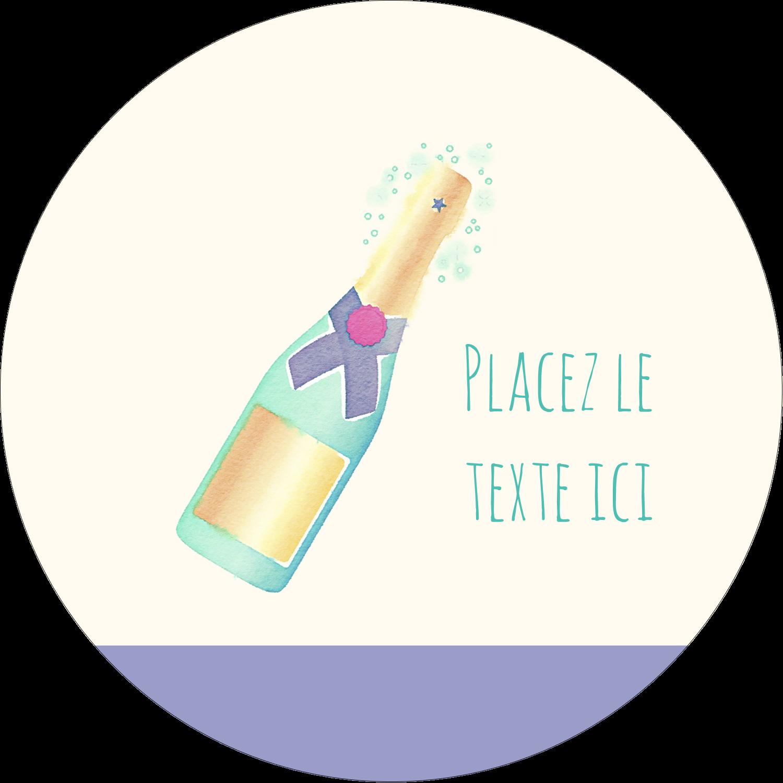 Les gabarits Bouteille de champagne pour votre prochain projet Étiquettes arrondies - gabarit prédéfini. <br/>Utilisez notre logiciel Avery Design & Print Online pour personnaliser facilement la conception.