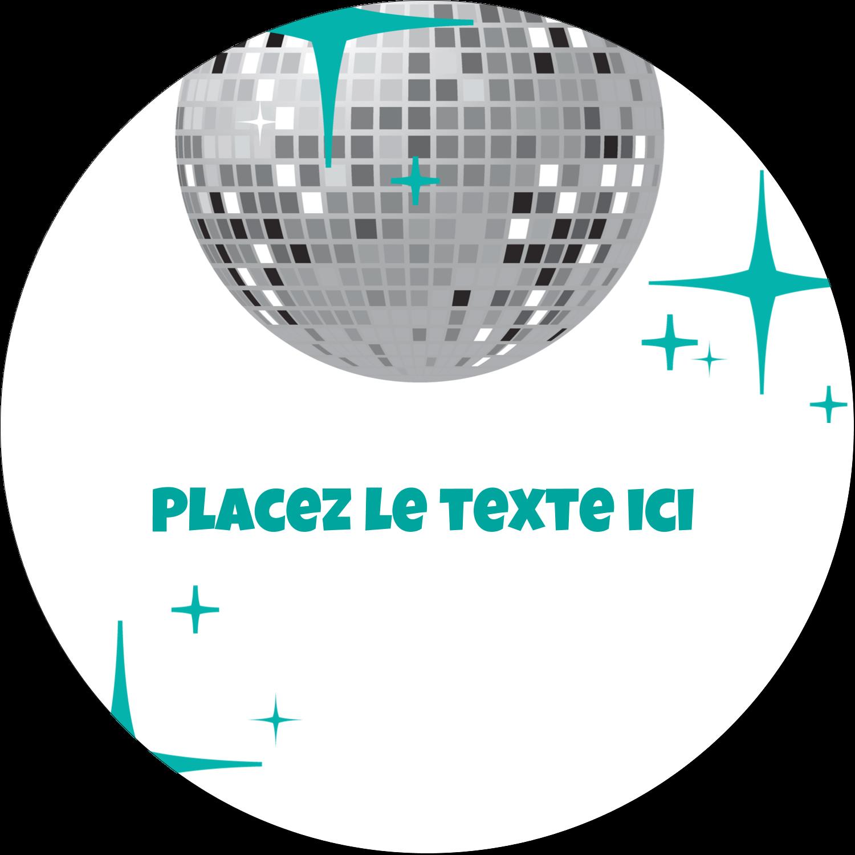 Les gabarits Boule disco pour votre prochain projet Étiquettes arrondies - gabarit prédéfini. <br/>Utilisez notre logiciel Avery Design & Print Online pour personnaliser facilement la conception.