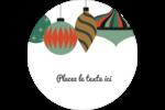 Motif de décorations Étiquettes arrondies - gabarit prédéfini. <br/>Utilisez notre logiciel Avery Design & Print Online pour personnaliser facilement la conception.