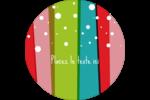Rayures de Noël rétro Étiquettes de classement - gabarit prédéfini. <br/>Utilisez notre logiciel Avery Design & Print Online pour personnaliser facilement la conception.