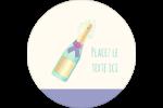 Les gabarits Bouteille de champagne pour votre prochain projet Étiquettes de classement - gabarit prédéfini. <br/>Utilisez notre logiciel Avery Design & Print Online pour personnaliser facilement la conception.