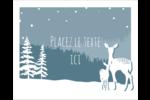 Les gabarits Cerfs en forêt pour votre prochain projet Étiquettes rondes gaufrées - gabarit prédéfini. <br/>Utilisez notre logiciel Avery Design & Print Online pour personnaliser facilement la conception.