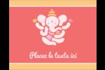 Ganesh Divali  Étiquettes rondes gaufrées - gabarit prédéfini. <br/>Utilisez notre logiciel Avery Design & Print Online pour personnaliser facilement la conception.