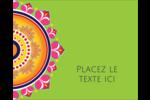 Rangolis Divali Étiquettes rondes gaufrées - gabarit prédéfini. <br/>Utilisez notre logiciel Avery Design & Print Online pour personnaliser facilement la conception.