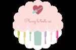 Vernis à ongles Étiquettes rondes - gabarit prédéfini. <br/>Utilisez notre logiciel Avery Design & Print Online pour personnaliser facilement la conception.