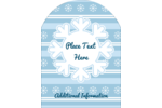 Bring a delightful sense of wonder to projects with pre-designed Blue Snowflake templates.