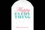 Les gabarits Happy Everything pour votre prochain projet Étiquettes rectangulaires - gabarit prédéfini. <br/>Utilisez notre logiciel Avery Design & Print Online pour personnaliser facilement la conception.
