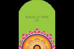 Rangolis Divali Étiquettes rectangulaires - gabarit prédéfini. <br/>Utilisez notre logiciel Avery Design & Print Online pour personnaliser facilement la conception.