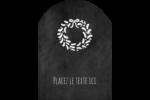 Guirlande sur tableau noir Étiquettes rectangulaires - gabarit prédéfini. <br/>Utilisez notre logiciel Avery Design & Print Online pour personnaliser facilement la conception.