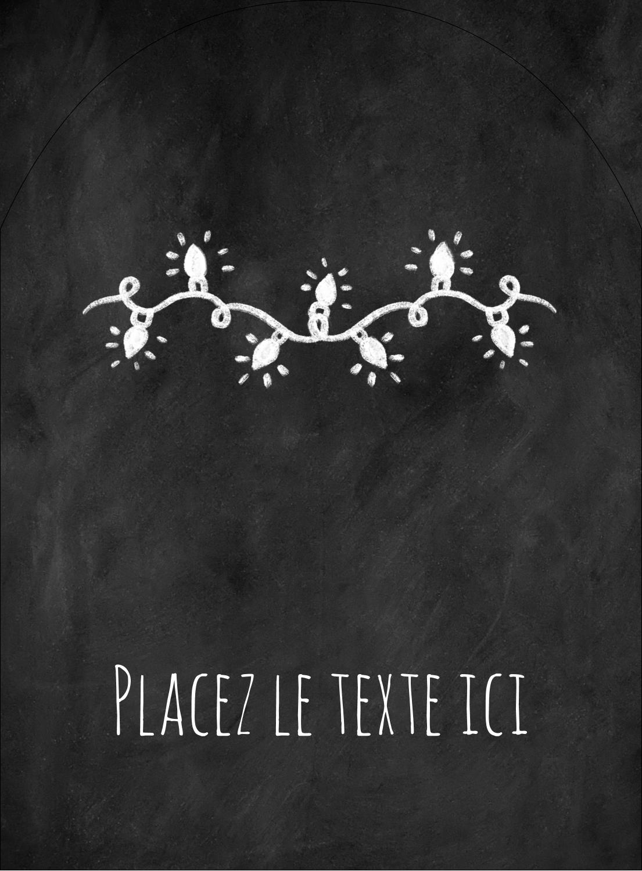 """4¾"""" x 3½"""" Étiquettes rectangulaires - Lumières sur tableau noir"""