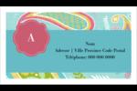 Cachemire Cartes Pour Le Bureau - gabarit prédéfini. <br/>Utilisez notre logiciel Avery Design & Print Online pour personnaliser facilement la conception.