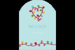 Les gabarits Lumières de Noël pour votre prochain projet des Fêtes Étiquettes rectangulaires - gabarit prédéfini. <br/>Utilisez notre logiciel Avery Design & Print Online pour personnaliser facilement la conception.