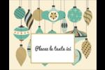 Motif de décorations Étiquettes rondes gaufrées - gabarit prédéfini. <br/>Utilisez notre logiciel Avery Design & Print Online pour personnaliser facilement la conception.