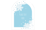 Bring winter's beauty to projects with pre-designed Die-Cut Snowflakes templates.