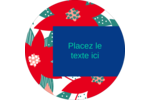 Les gabarits Poinsettia pour votre prochain projet des Fêtes Étiquettes rondes - gabarit prédéfini. <br/>Utilisez notre logiciel Avery Design & Print Online pour personnaliser facilement la conception.