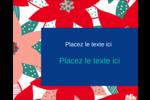 Les gabarits Poinsettia pour votre prochain projet des Fêtes Étiquettes rondes gaufrées - gabarit prédéfini. <br/>Utilisez notre logiciel Avery Design & Print Online pour personnaliser facilement la conception.