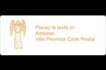 Gravure pieuse Étiquettes D'Adresse - gabarit prédéfini. <br/>Utilisez notre logiciel Avery Design & Print Online pour personnaliser facilement la conception.
