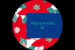 Les gabarits Poinsettia pour votre prochain projet des Fêtes Étiquettes de classement - gabarit prédéfini. <br/>Utilisez notre logiciel Avery Design & Print Online pour personnaliser facilement la conception.