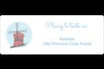 Les gabarits Fêtes à Paris pour votre prochain événement Étiquettes D'Adresse - gabarit prédéfini. <br/>Utilisez notre logiciel Avery Design & Print Online pour personnaliser facilement la conception.