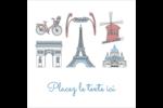 Les gabarits Fêtes à Paris pour votre prochain événement Étiquettes enveloppantes - gabarit prédéfini. <br/>Utilisez notre logiciel Avery Design & Print Online pour personnaliser facilement la conception.