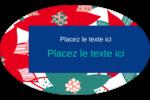 Les gabarits Poinsettia pour votre prochain projet des Fêtes Étiquettes carrées - gabarit prédéfini. <br/>Utilisez notre logiciel Avery Design & Print Online pour personnaliser facilement la conception.