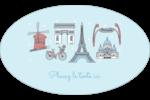 Les gabarits Fêtes à Paris pour votre prochain événement Étiquettes carrées - gabarit prédéfini. <br/>Utilisez notre logiciel Avery Design & Print Online pour personnaliser facilement la conception.