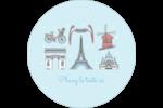 Les gabarits Fêtes à Paris pour votre prochain événement Étiquettes rondes - gabarit prédéfini. <br/>Utilisez notre logiciel Avery Design & Print Online pour personnaliser facilement la conception.