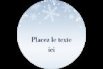 Les gabarits Flocon de neige élégant pour votre prochain projet des Fêtes Étiquettes de classement - gabarit prédéfini. <br/>Utilisez notre logiciel Avery Design & Print Online pour personnaliser facilement la conception.