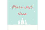 Infuse sweet simplicity into projects with pre-designed Snow Falling on Trees templates.