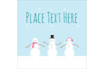 Add winter-wonderland whimsy to projects with pre-designed Tiny Snowmen templates.