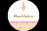 Plant d'ananas tropical Étiquettes rondes - gabarit prédéfini. <br/>Utilisez notre logiciel Avery Design & Print Online pour personnaliser facilement la conception.