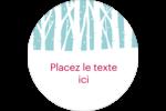 Les gabarits Forêt hivernale pour votre prochain projet des Fêtes Étiquettes rondes - gabarit prédéfini. <br/>Utilisez notre logiciel Avery Design & Print Online pour personnaliser facilement la conception.